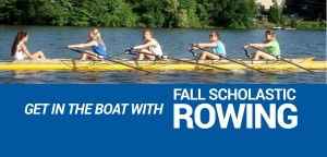 Fall Youth Program: Girls rowing